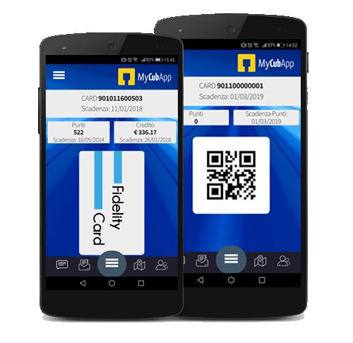 App per carte fedeltà MyCubApp