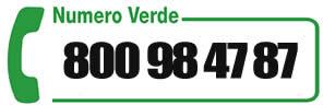 numero verde 800 984787