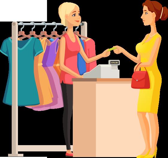 fidelity card per negozi di abbigliamento